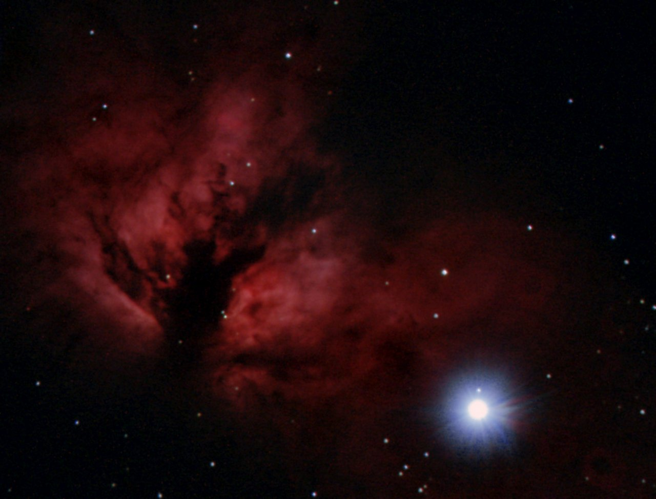 NGC2924, the Flame Nebula