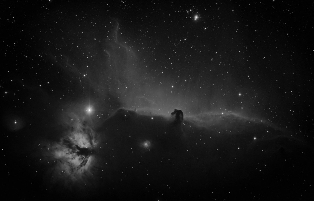 Horsehead and Running Man Nebulae