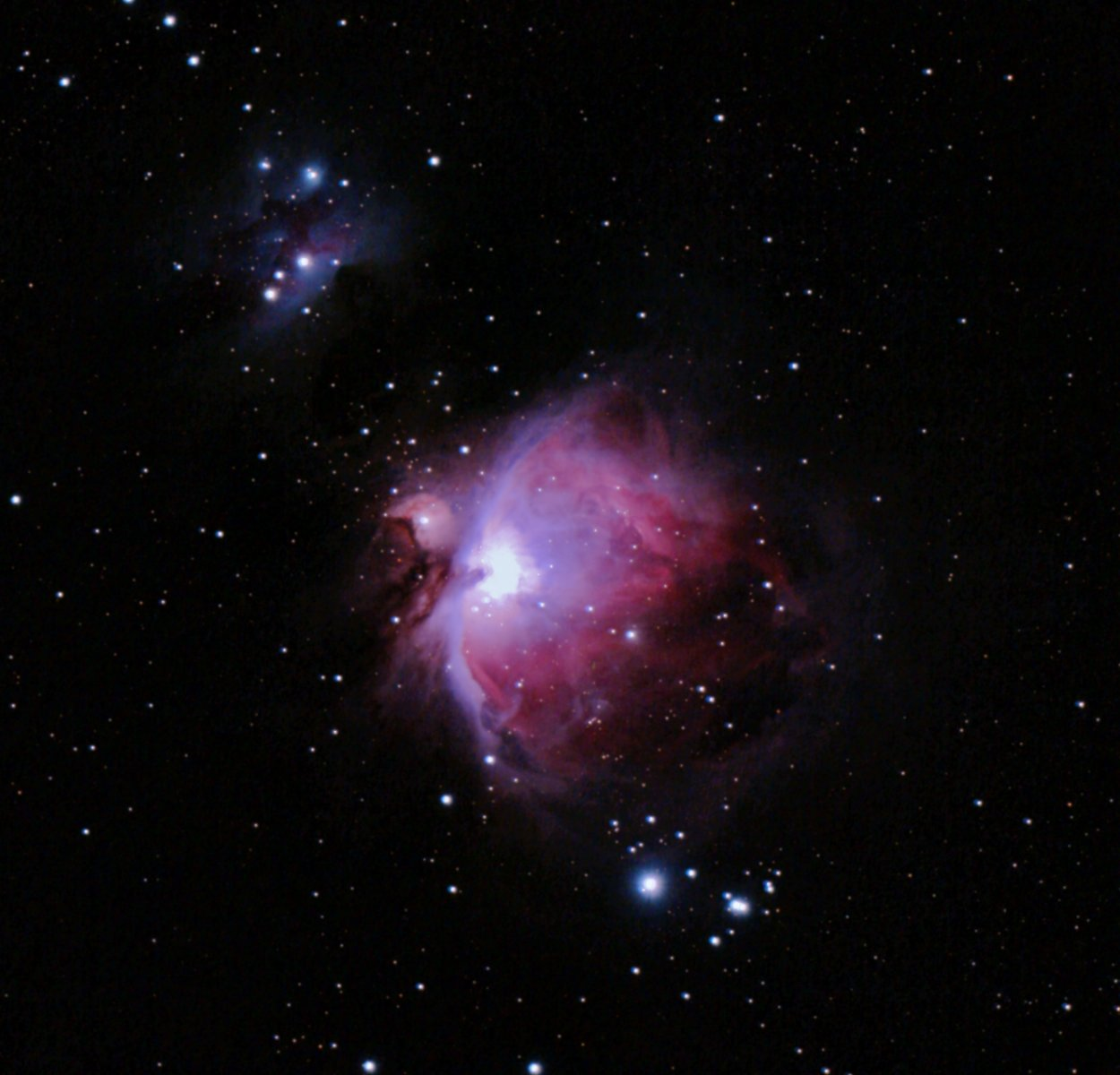 M42, Ha and OIII