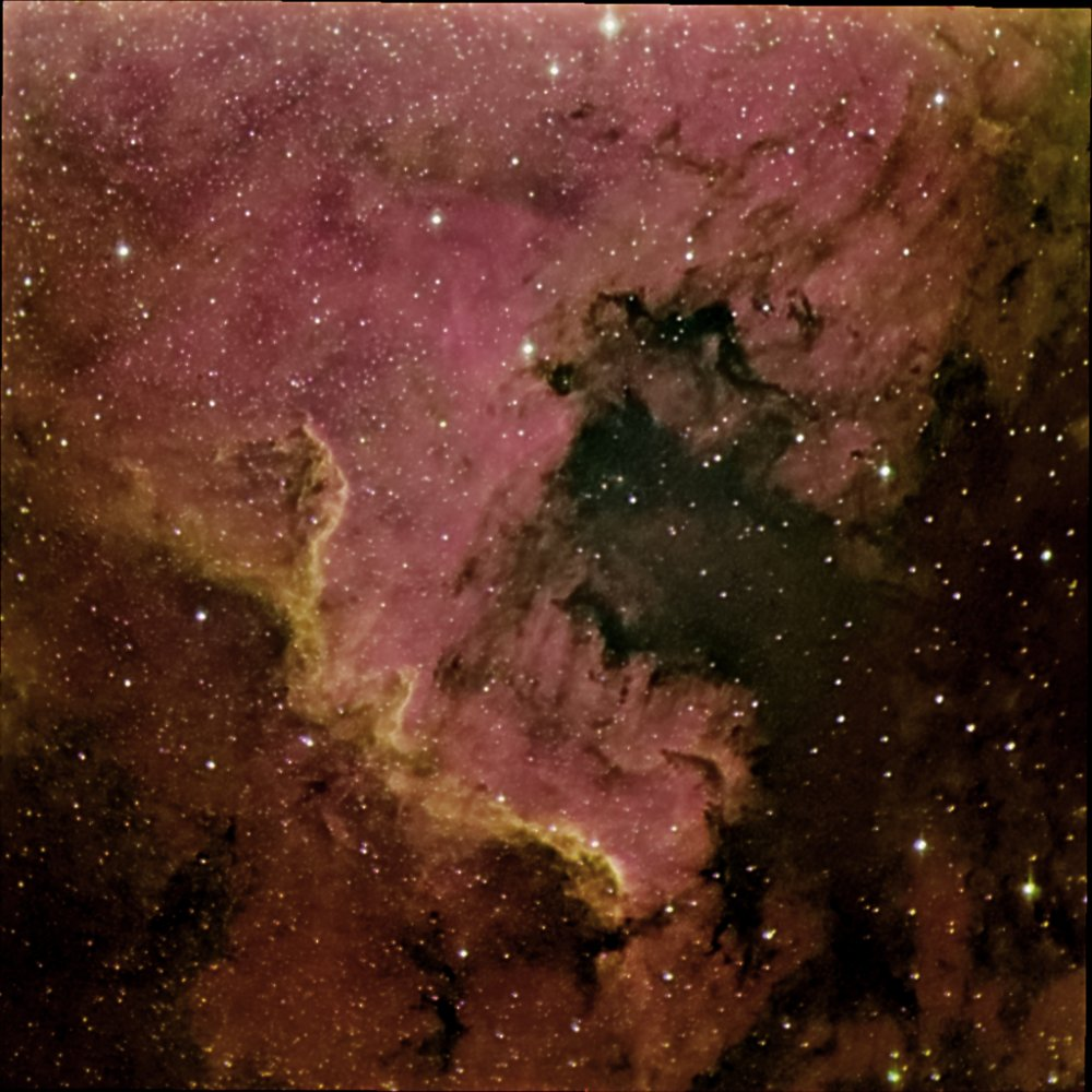 NGC7000, the North American Nebula
