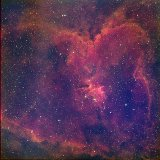 The Heart Nebula, IC1805
