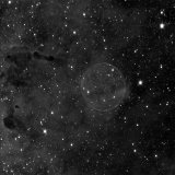 The Soap Bubble Nebula, in Ha