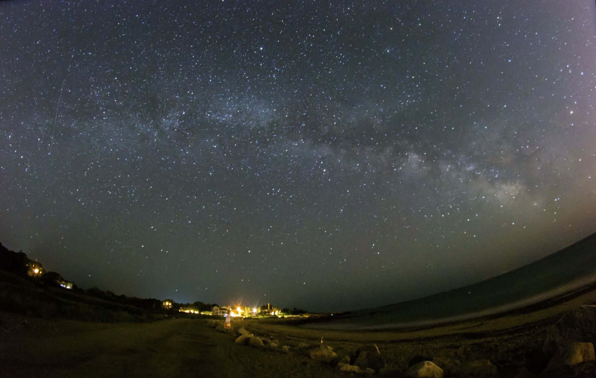Milky Way at Pebble Beach
