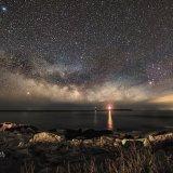 Milky Way, Lighthouse