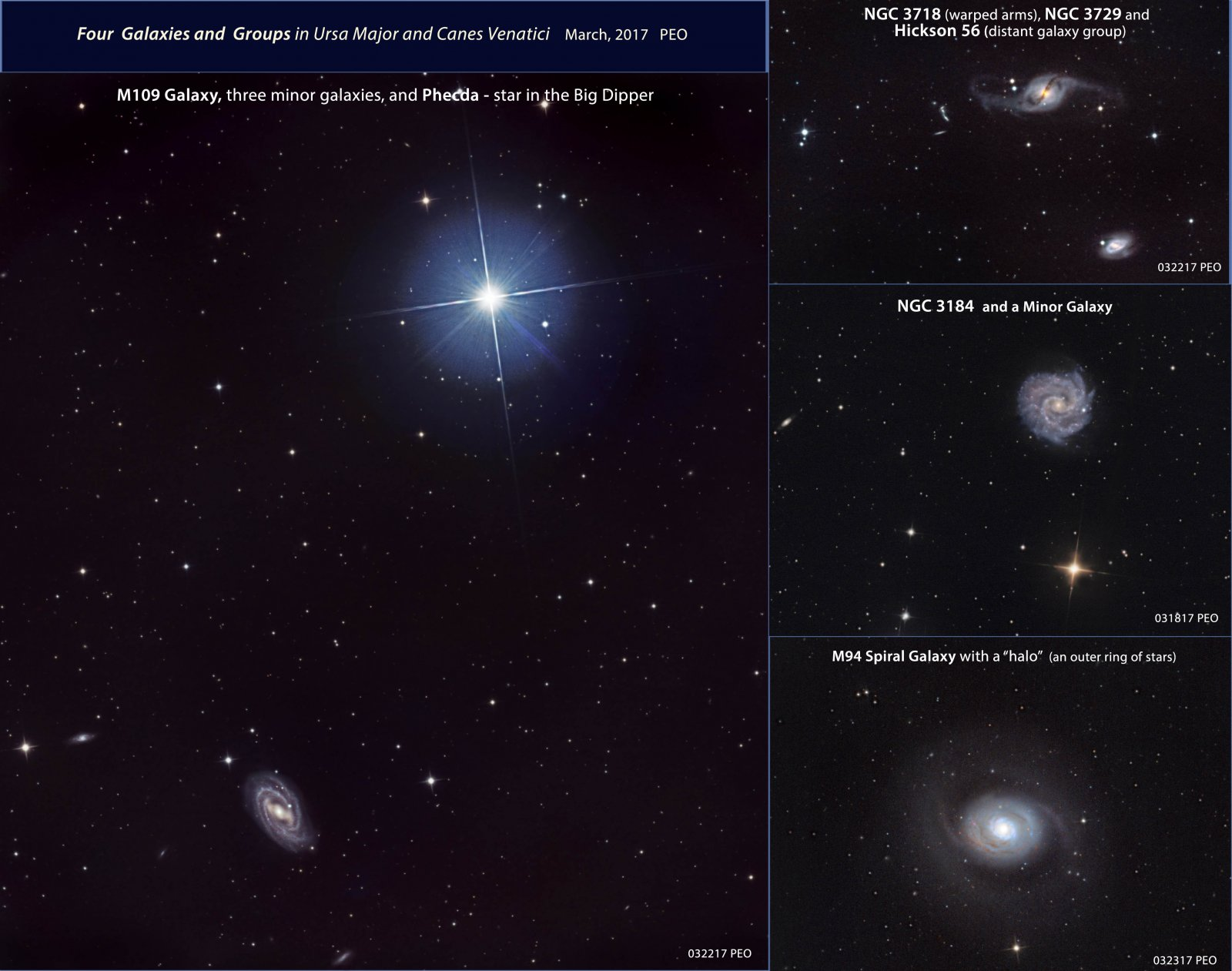 4 Galaxies in Ursa Major