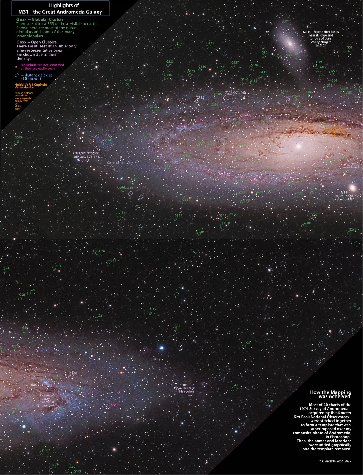 M31 Map