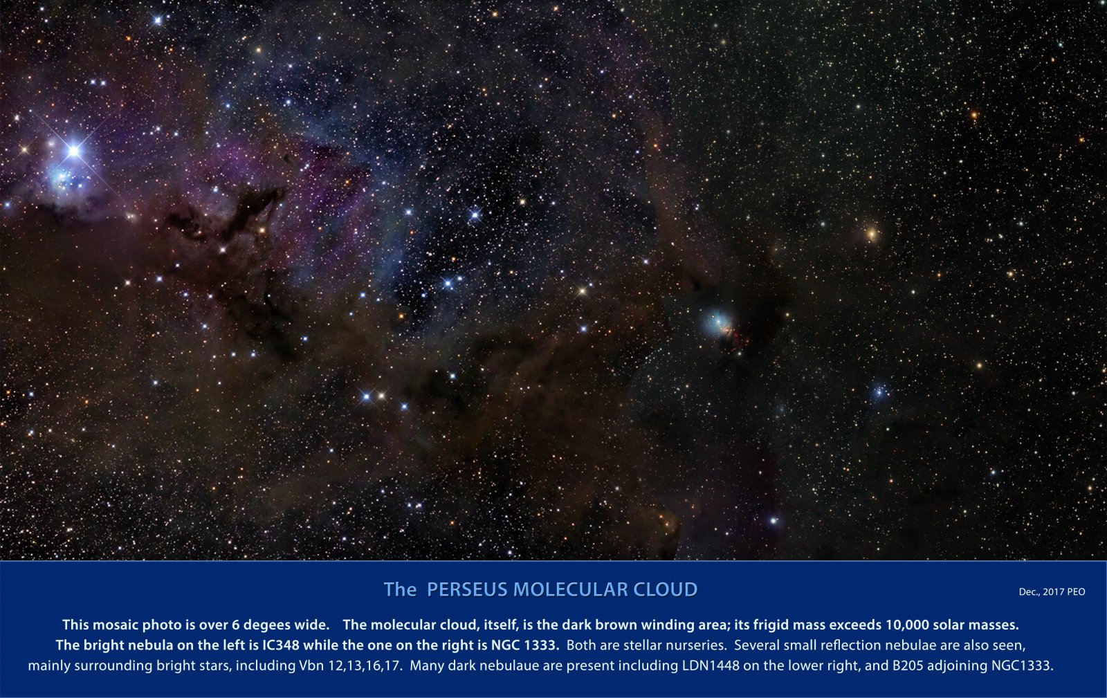 The Perseus Molecular Cloud