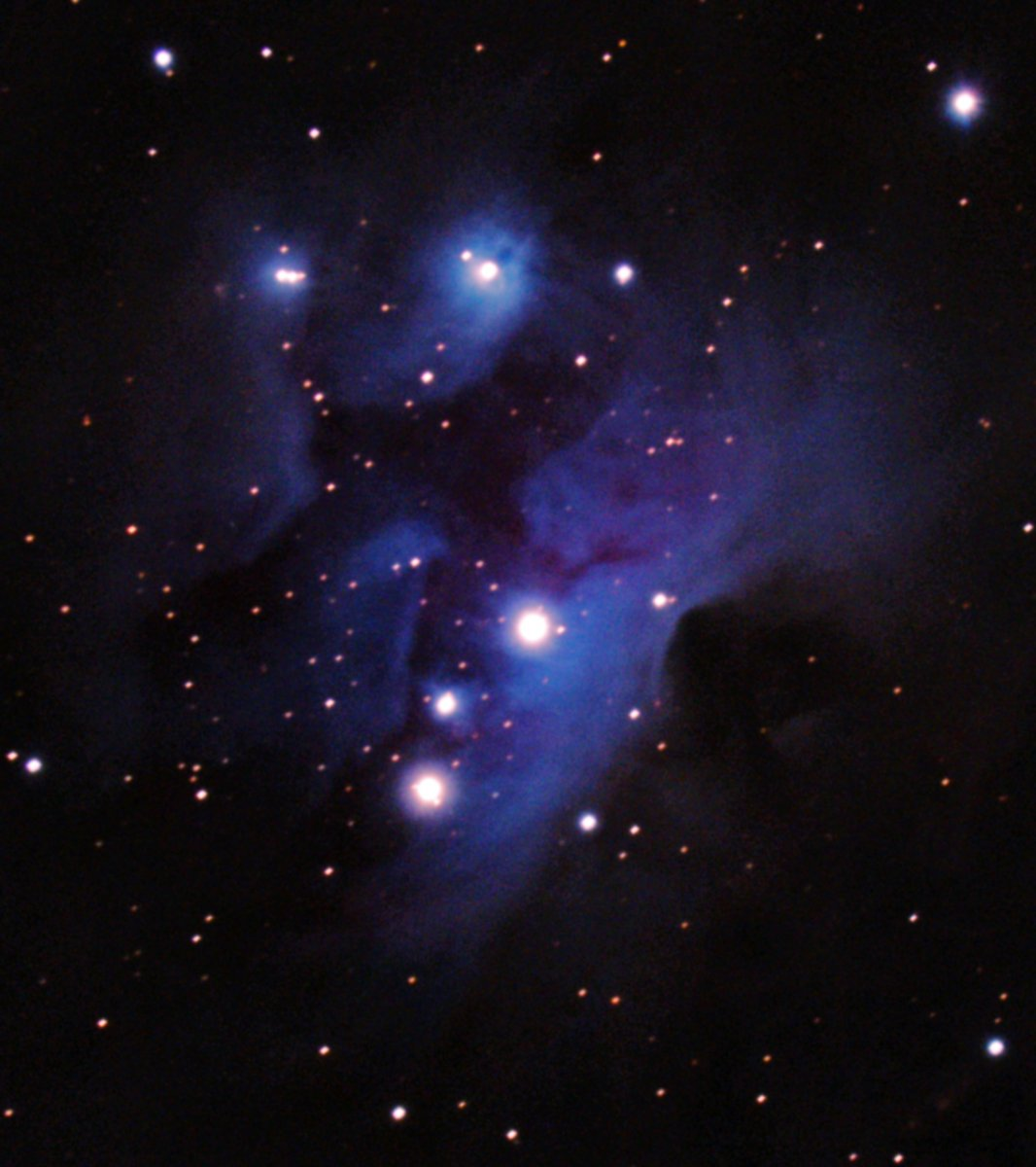 The Running Man NGC1977