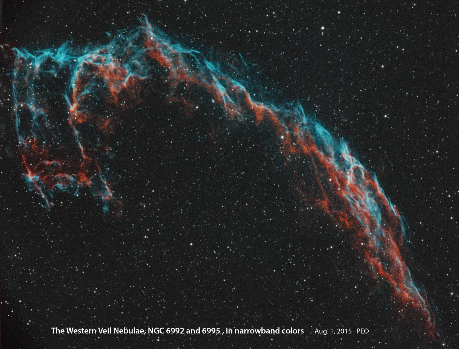 Wester Veil Nebula