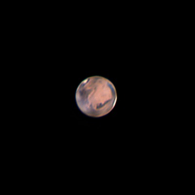 Mars, night 1