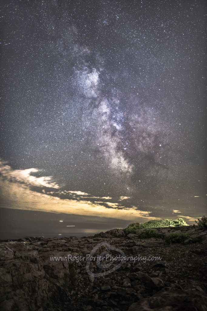 Milky Way Back Shore