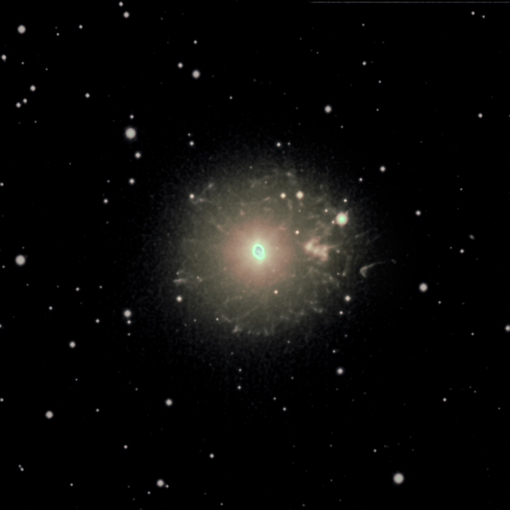 NGC6543, the Cat's Eye Nebula