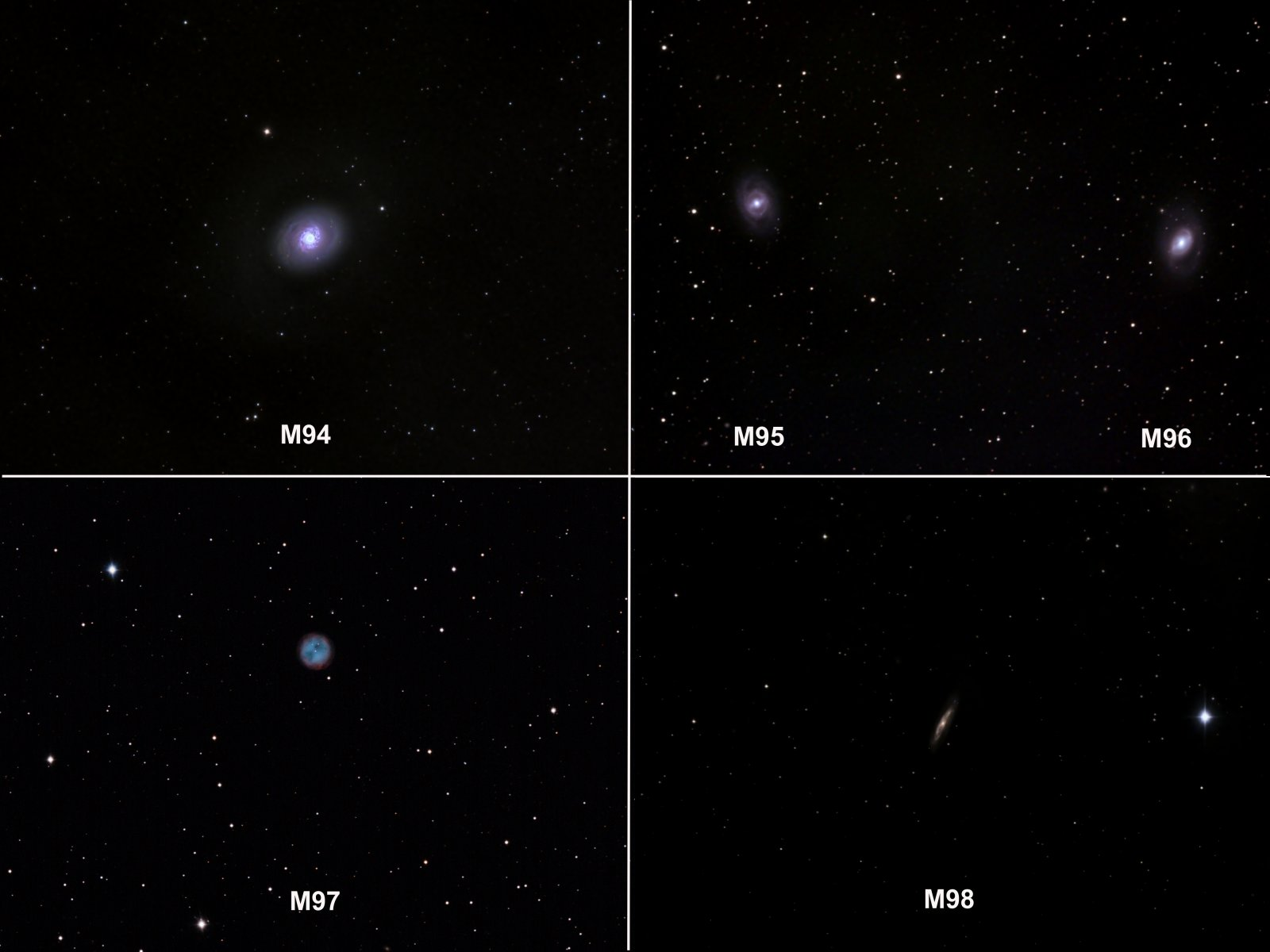 Messiers 94-98