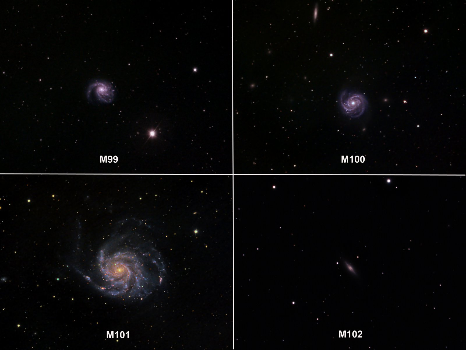 Messiers 99-102
