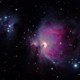 M42, the Running Man Nebula, NGC1977