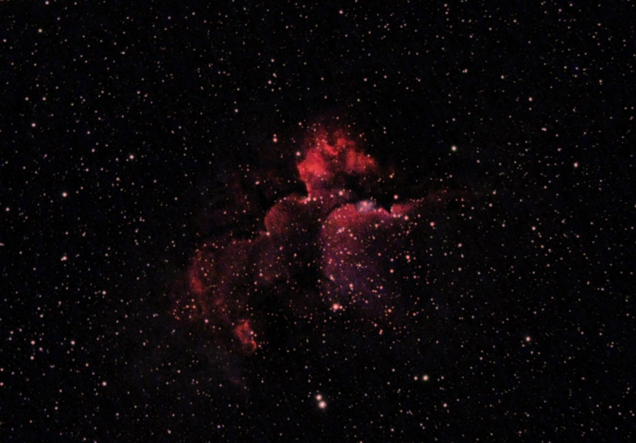 NGC7380, the Wizard Nebula