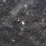 M81, M82, with flux nebula