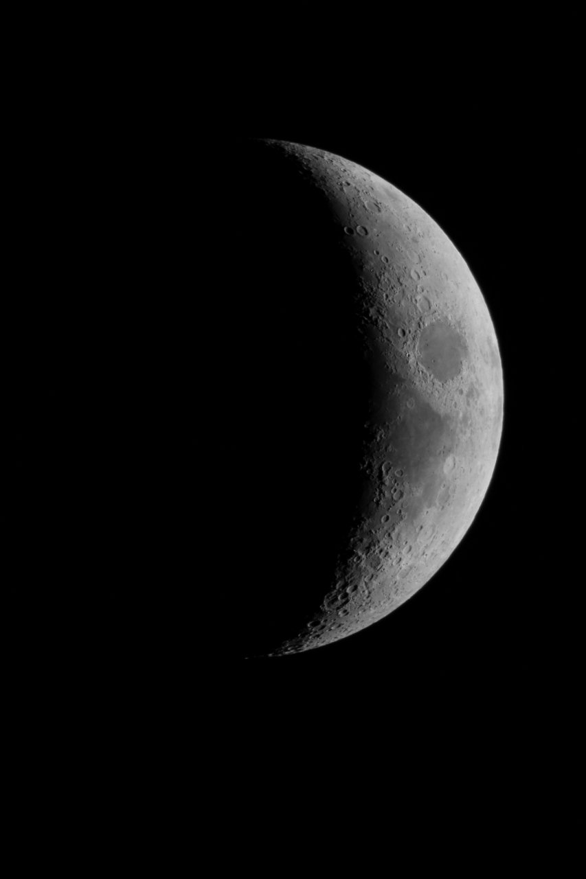 Crescent Moon, March 2015