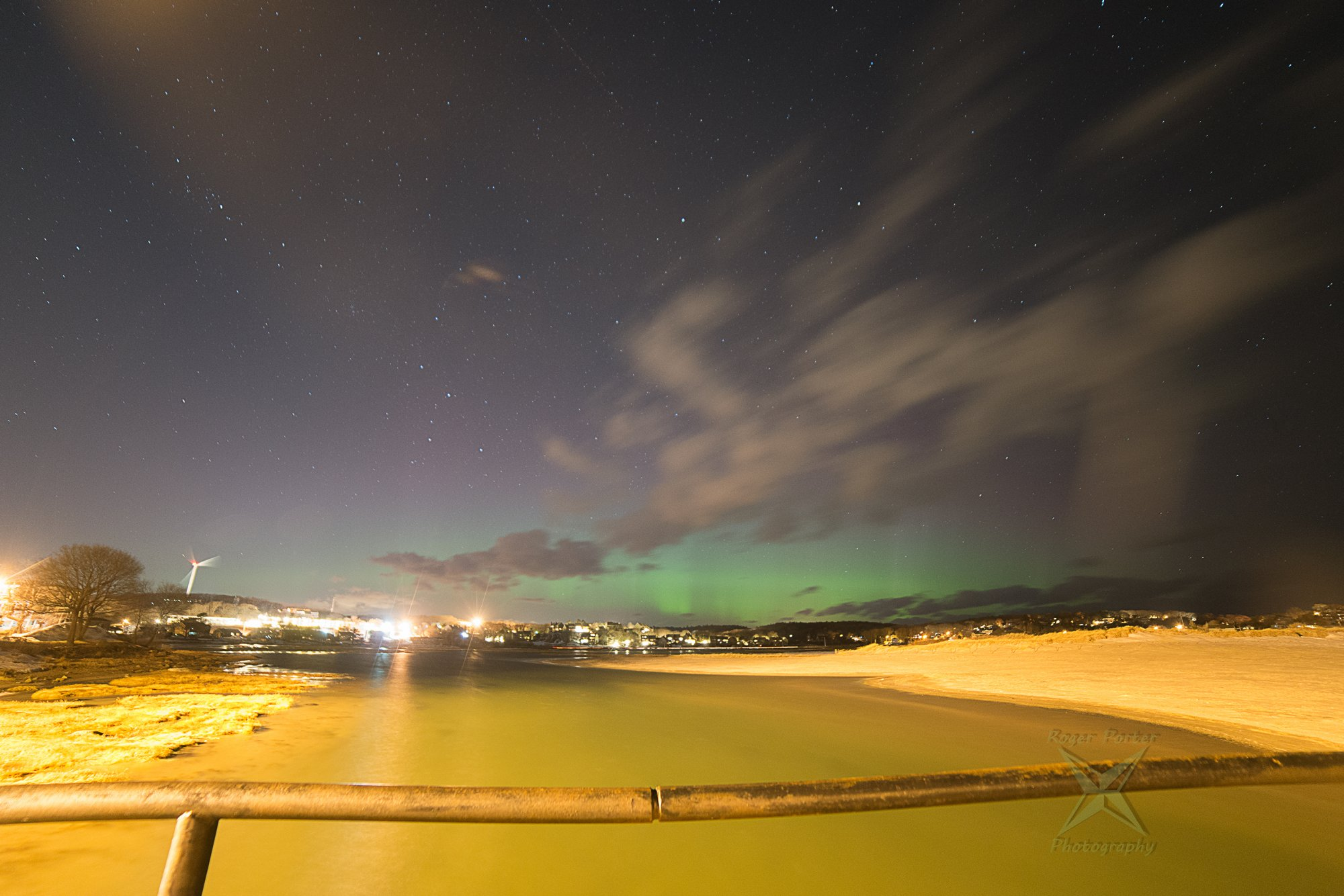 Aurora, Good Harbor Beach, 3/17