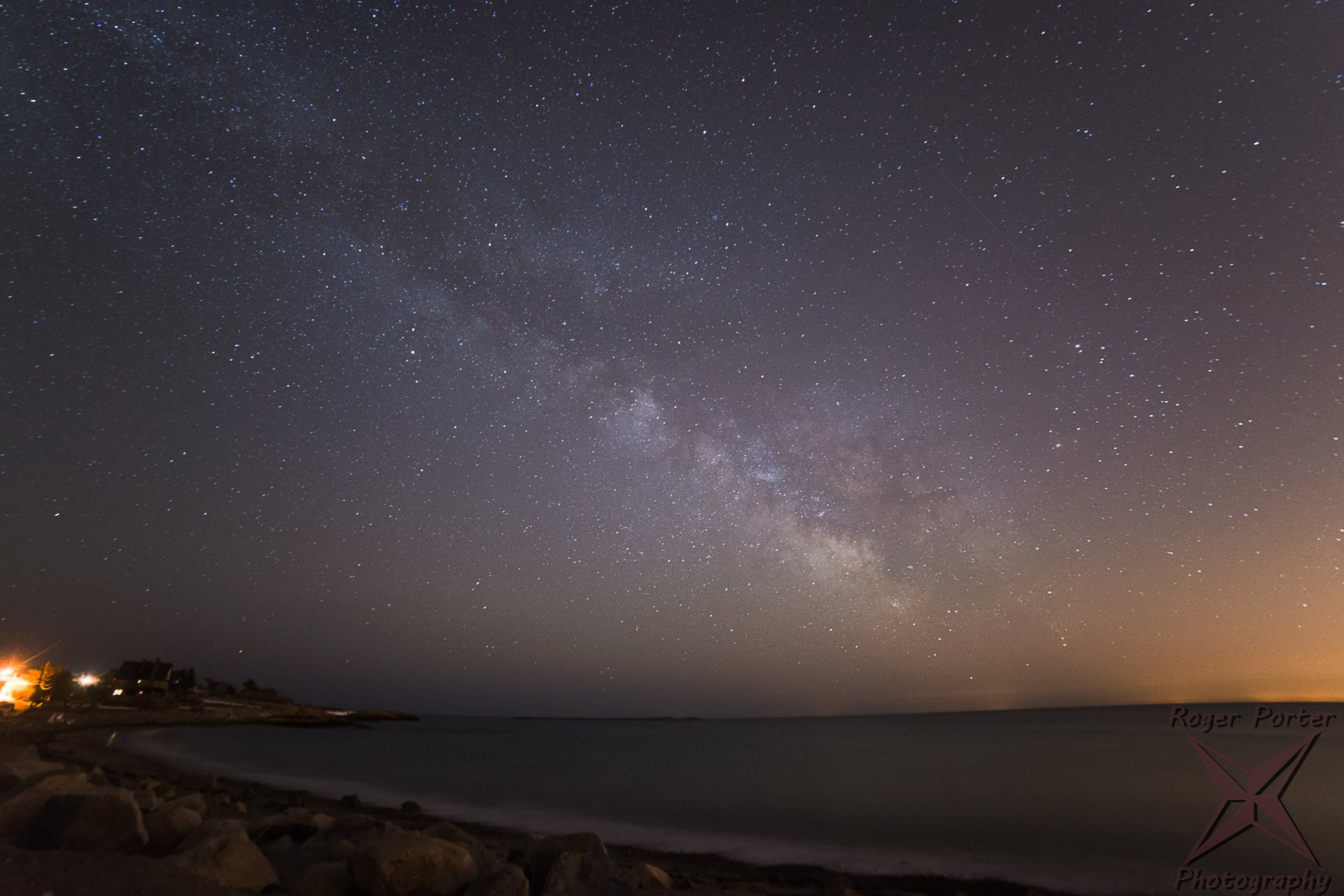 Milky Way at Pebble Beach, March 2015