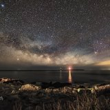 Milky Way, Lighthouse