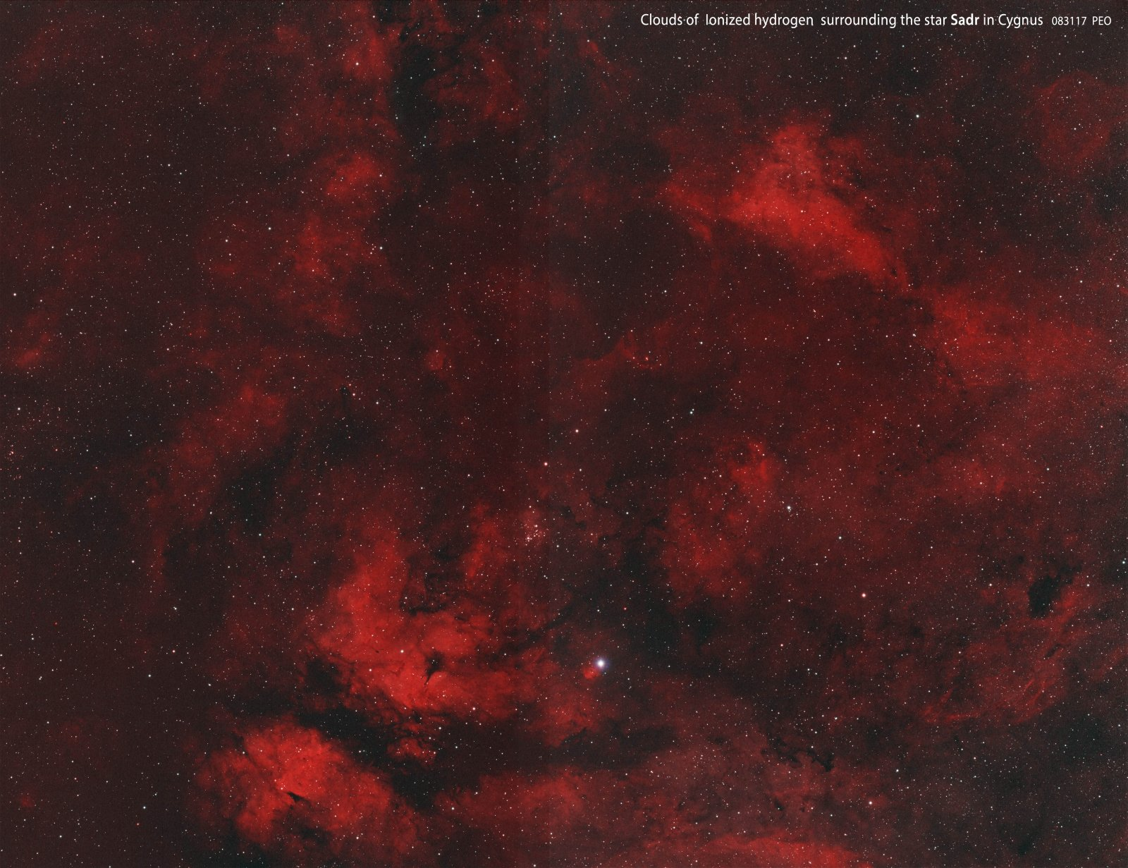 Nebulae near Sadr