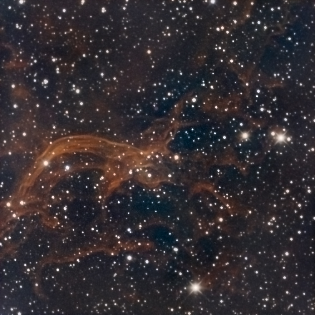 Sh2-114, the Flying Dragon Nebula