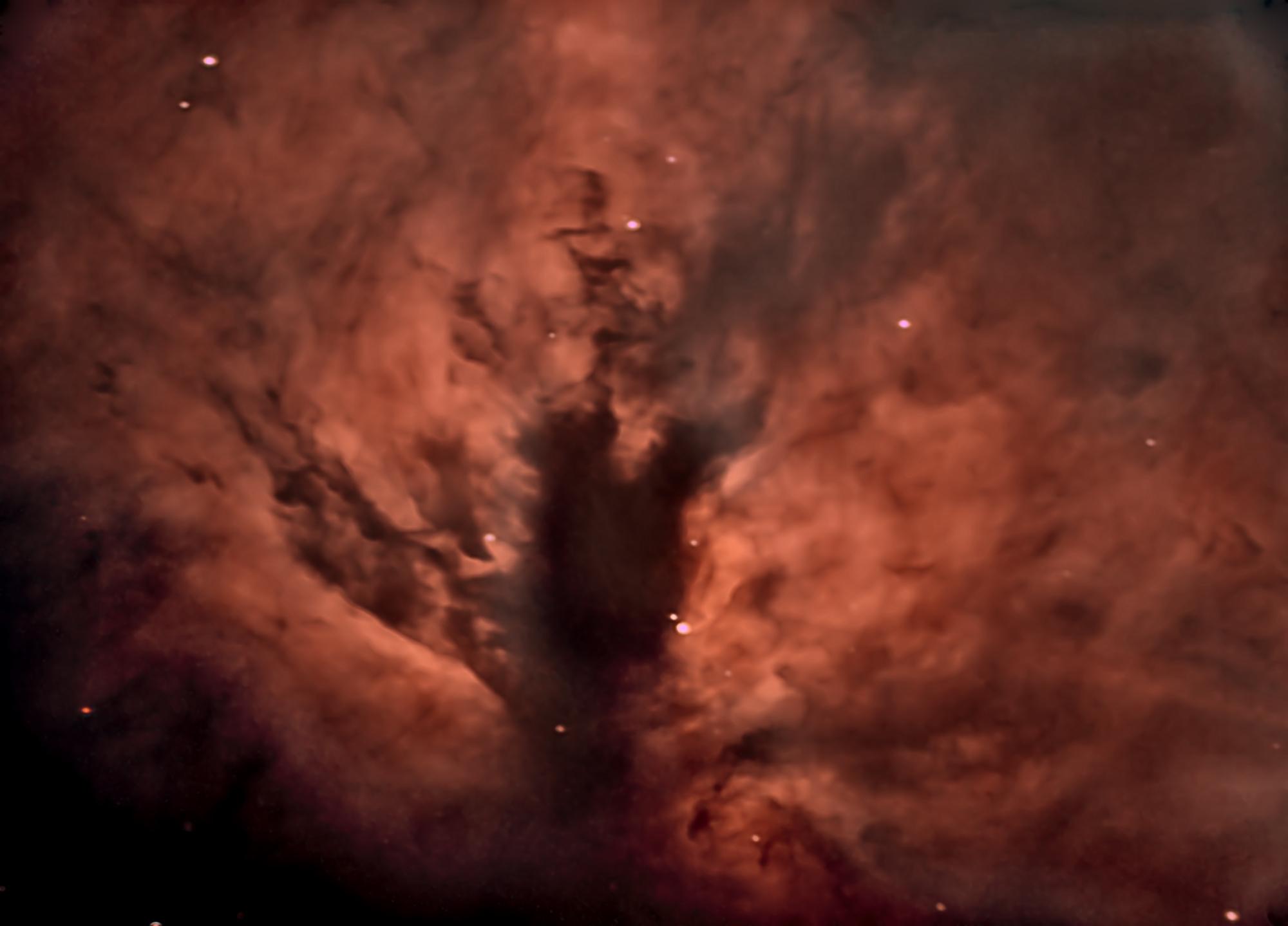 NGC2024, the Flame