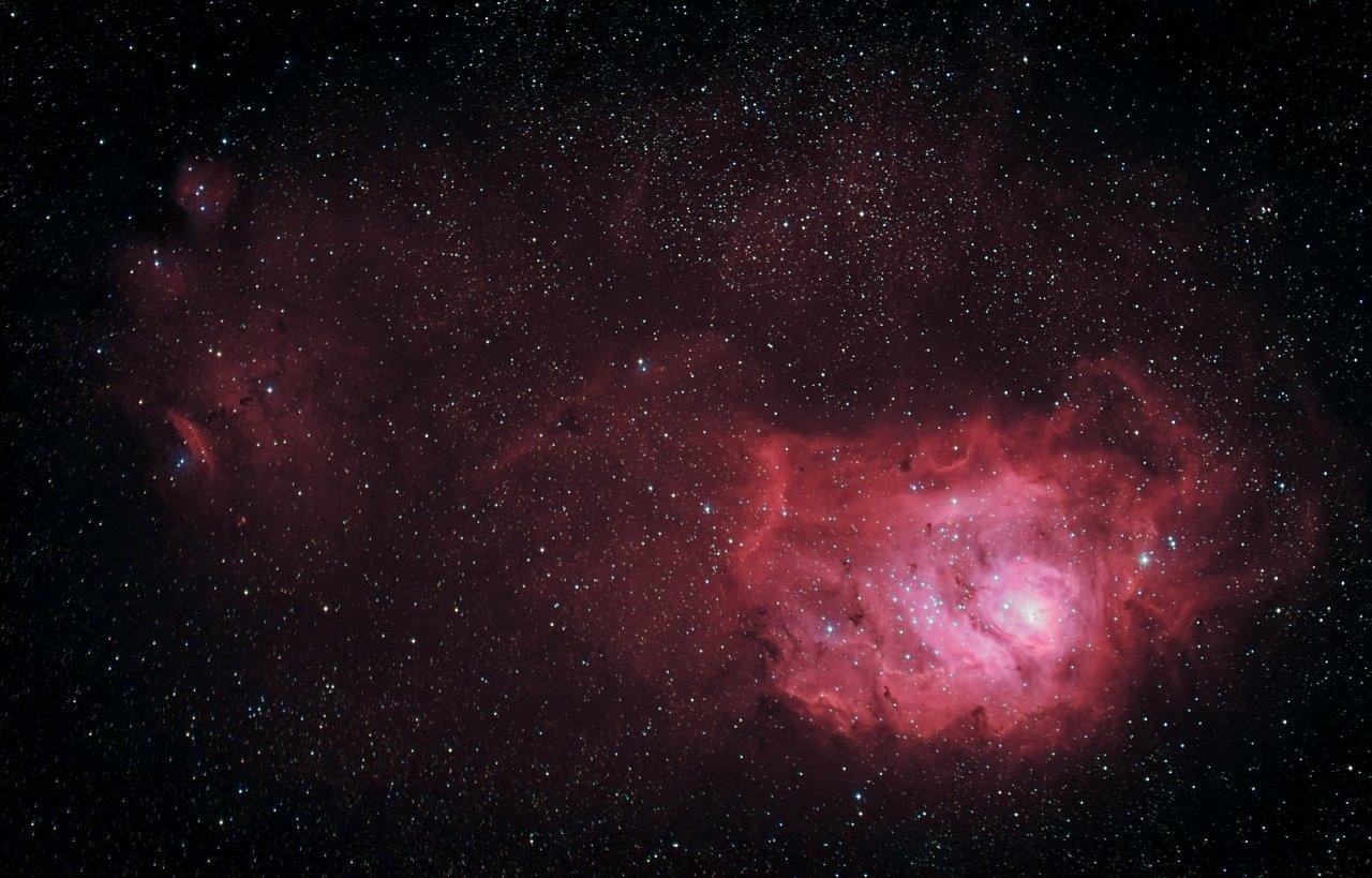 M8 and NGC6334