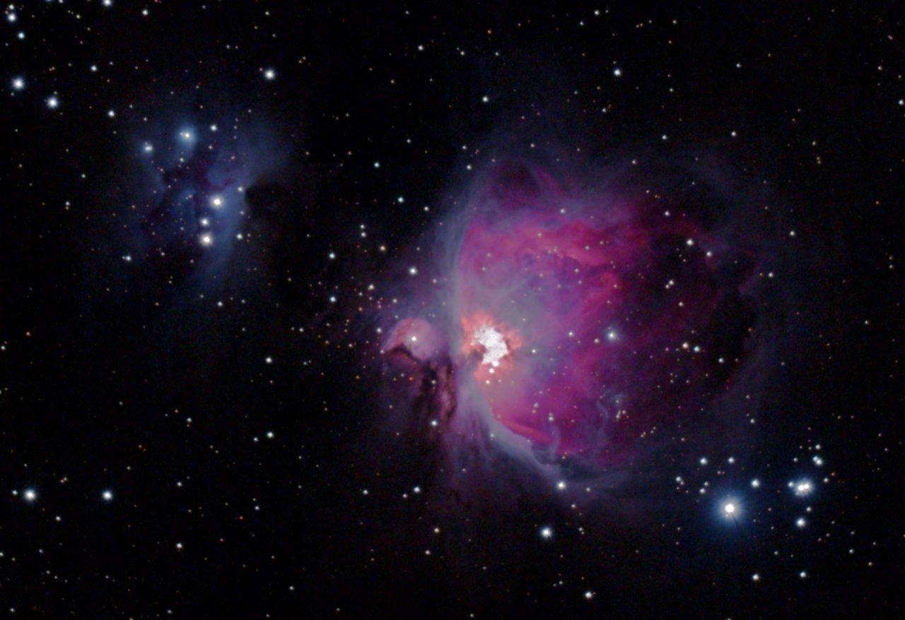 M42, the Running Man Nebula, NGC1977
