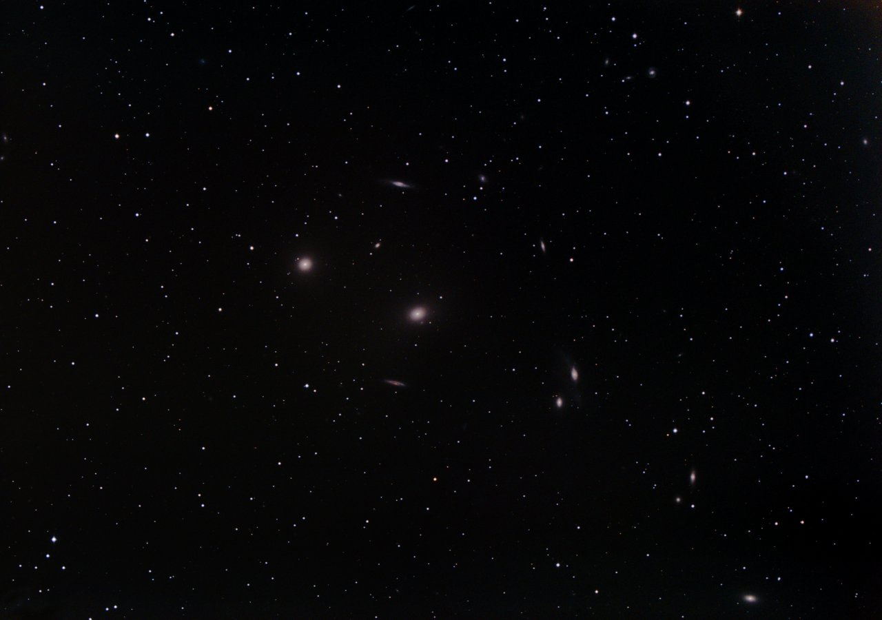 M86 and Markarian's Chain