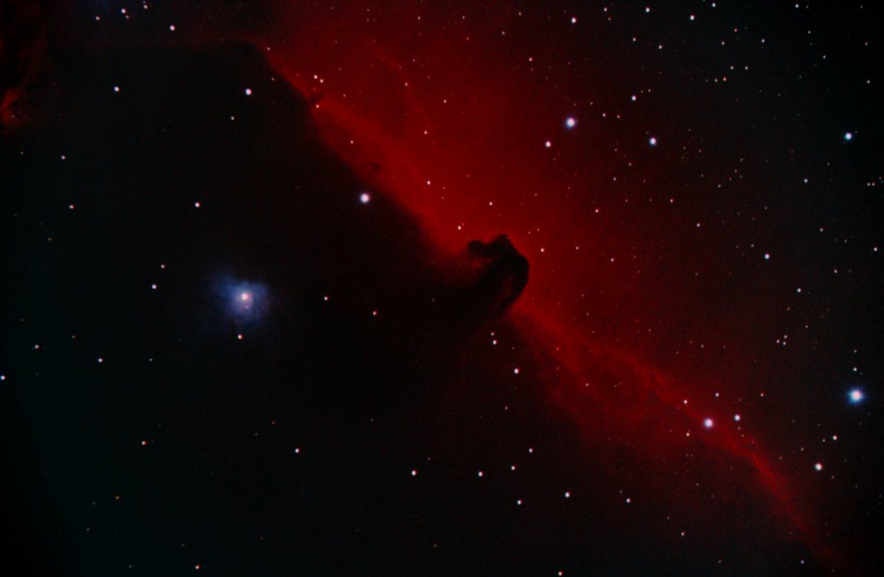 IC434, the Horsehead, L-RGB and Ha