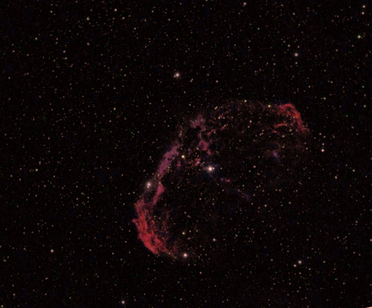 NGC6888, the Crescent Nebula
