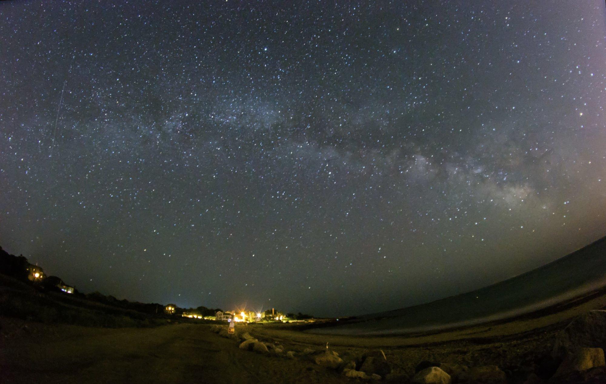 Milky Way at Pebble Beach
